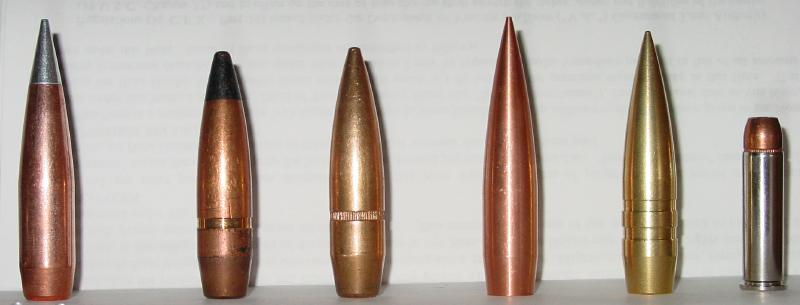 Bullets. .50 Caliber bullets
